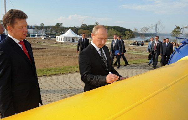«Газпром» ввел в эксплуатацию первый комплекс ГТС «Сахалин — Хабаровск — Владивосток»