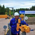 Уровень газификации России